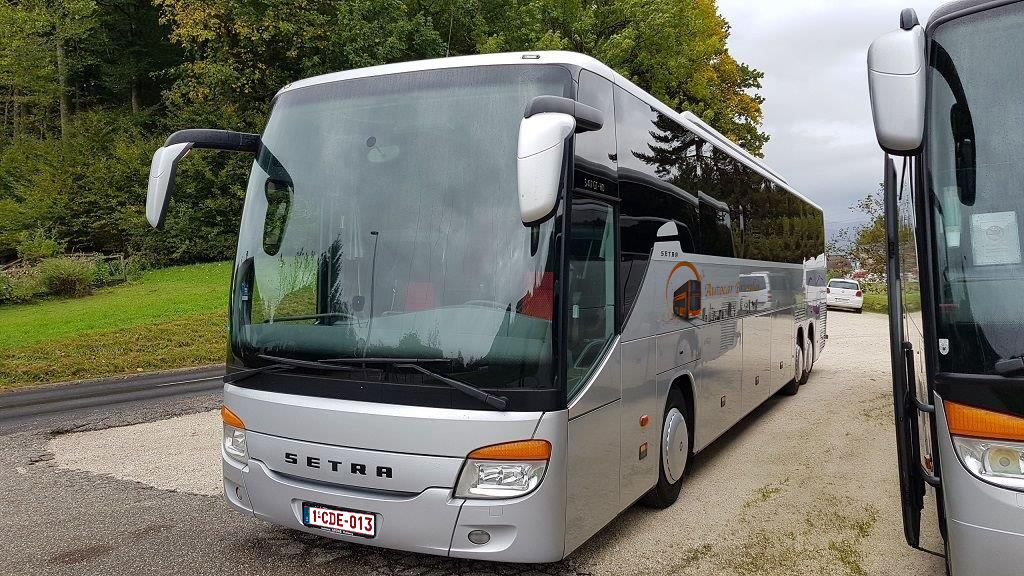 Renting all types of coaches in Brussels and Belgium